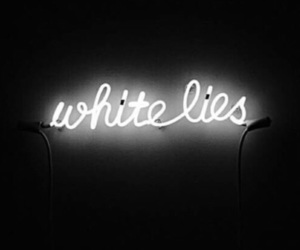 lies, feed, and neon image