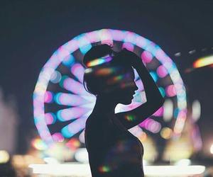 girl, light, and alternative image