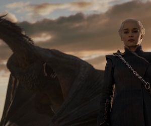 got, dany, and game of thrones image