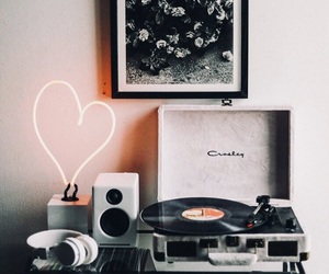 music, decor, and home image