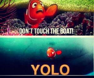yolo, nemo, and funny image