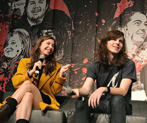 the walking dead, chandler riggs, and walker stalker con image