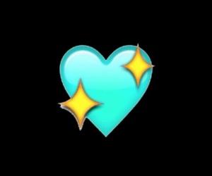 emoji, heart, and overlay image