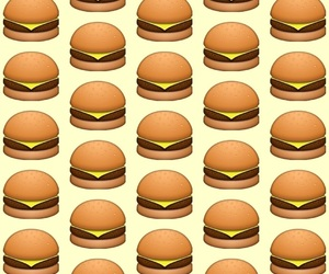 burger, food, and eat image