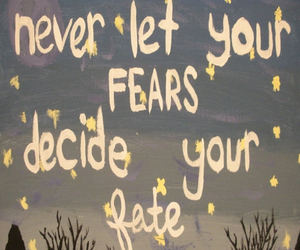 fears, life, and life lessons image