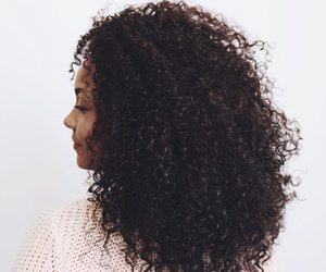 curls, aesthetic, and hair image