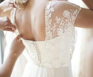 beautiful, buttons, and lace image