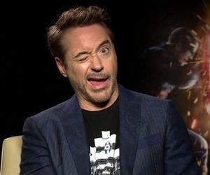 funny, iron man, and rdj image