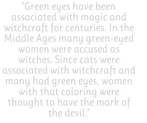 Devil, eyes, and green image