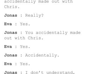 cheating, eva, and jonas image