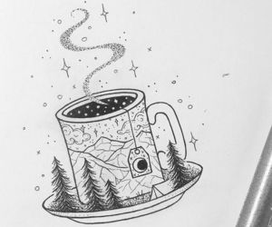 drawing and tea image