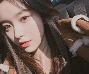 asian girl, korean fashion, and pale skin image