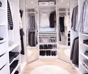 wardrobe, closet, and fashion image