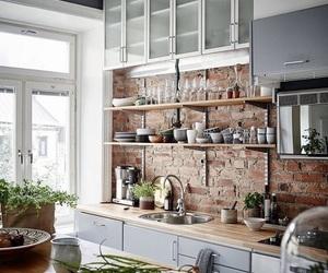 kitchen, design, and interior image