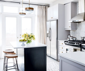 chic, decor, and grey image