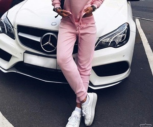 benz, car, and fashion image