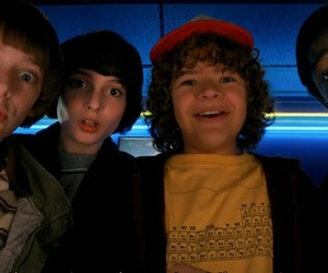 stranger things, finn wolfhard, and netflix image