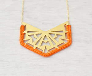 etsy, crochet necklace, and tribal necklace image
