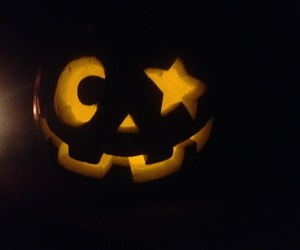 carving, Halloween, and face image