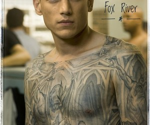 brothers, prison break, and tattoo image
