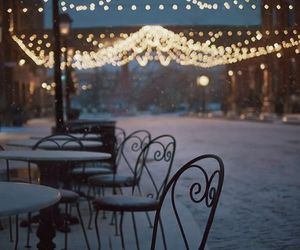 beautiful, cafe, and lights image