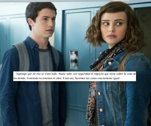 clay, frases, and hannah image