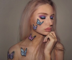 Halloween, make-up, and nyx cosmetics image