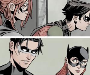 batgirl, nightwing, and bat family image