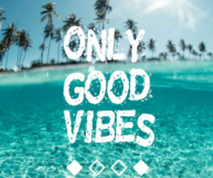 beach, good vibes, and peace image