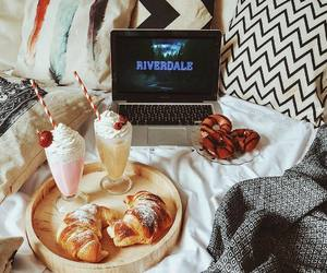 blanket, breakfast, and chill image