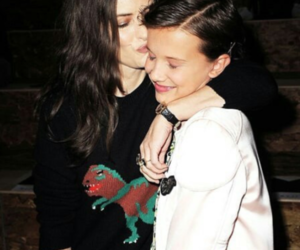 stranger things, millie bobby brown, and winona ryder image