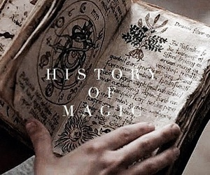 book, magic, and witch image