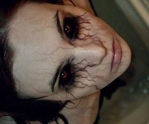 eyes, black, and demon image