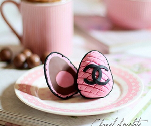 chanel, chocolate, and pink image