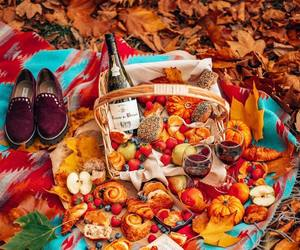 autumn, books, and breakfast image