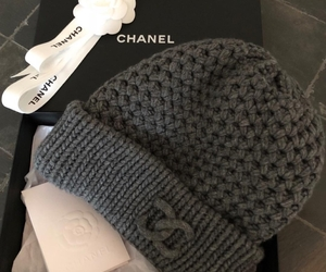 cap, chanel, and grey image