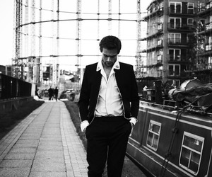 interview magazine, photoshoot, and douglas booth image