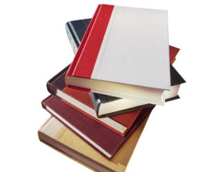 books and png image