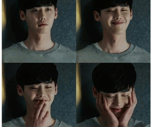 aesthetic, lee jong suk, and smile image