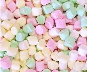 sweet, marshmallow, and food image