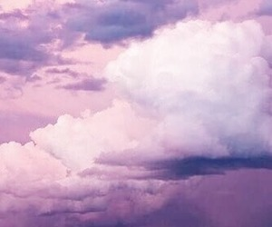 clouds, Dream, and lilac image