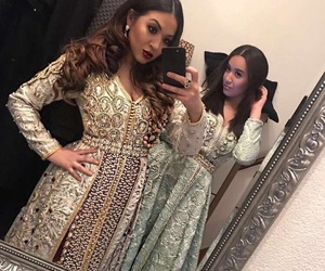 caftan and moroccan image
