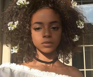 beauty, choker, and girl image