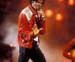 80s, beat it, and michael jackson image