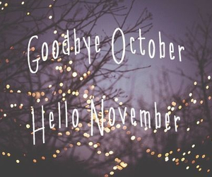 bye, month, and goodbye image
