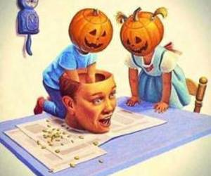 creepy, Halloween, and october image