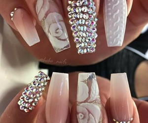 classy, glam, and nails image