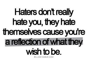 haters, quotes, and hate image