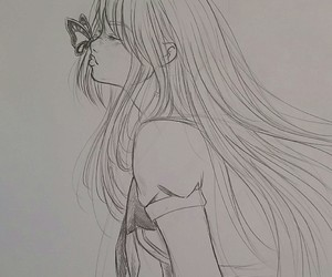 art, girl, and manga image