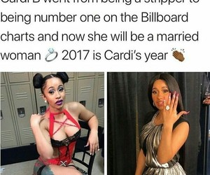 fr, goals, and cardi b image